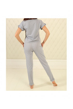 Пижама П-М-76 серого цвета