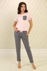 Піжама П-М-76 рожевого кольору