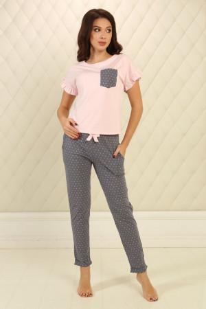 Пижама П-М-76 розового цвета