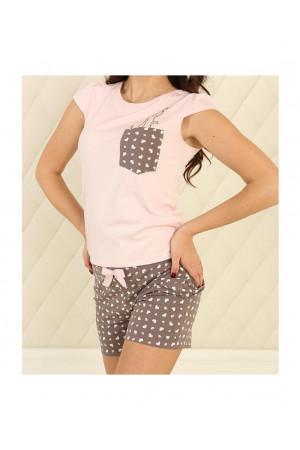 Піжама П-М-81 рожевого кольору