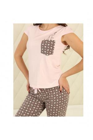 Пижама П-М-82 розового цвета