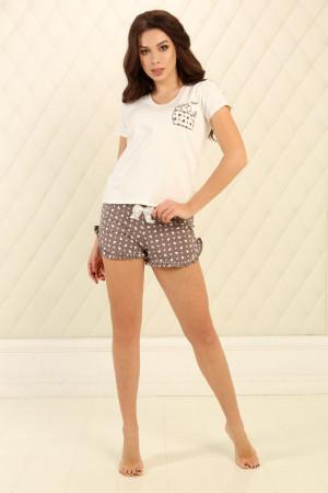 Пижама П-М-83 цвета айвори
