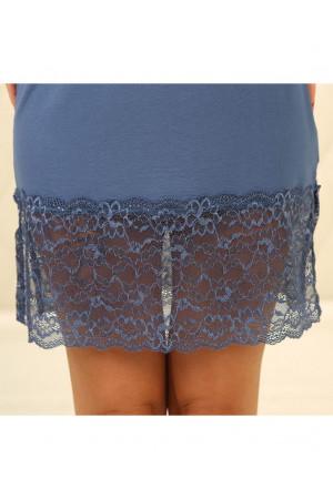 Нічна сорочка НС-М-70 синього кольору