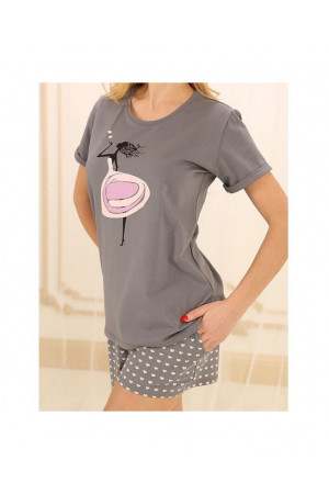 Пижама П-М-49 серого цвета