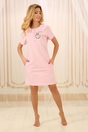 Ночная рубашка НС-М-84 розового цвета