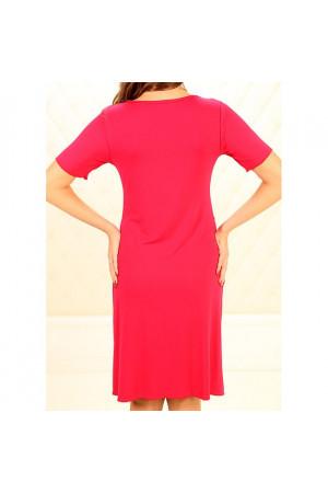 Нічна сорочка НС-М-86 червоного кольору