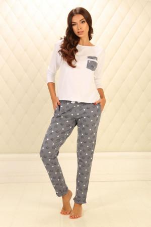Піжама П-М-77 сірого кольору