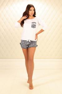 Пижама П-М-78 серого цвета