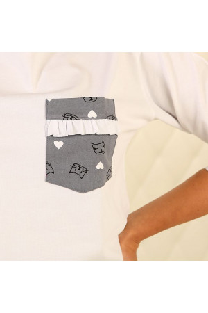 Піжама П-М-78 сірого кольору