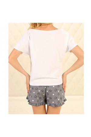 Піжама П-М-79 сірого кольору