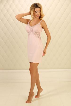 Нічна сорочка НС-М-78 блідо-рожевого кольору