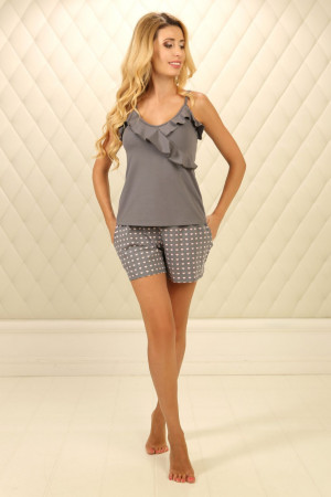 Пижама П-М-73 серого цвета