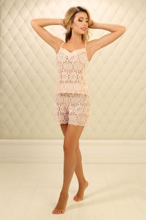 Пижама П-М-72 цвета пудры
