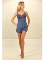 Пижама П-М-60 синего цвета