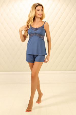 Пижама П-М-45 синего цвета