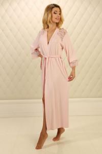 Халат Х-М-21 розового цвета