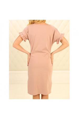 Нічна сорочка НС-М-89 рожевого кольору