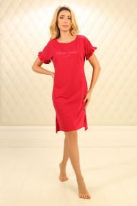 Ночная рубашка НС-М-89 красного цвета
