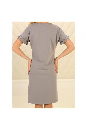Нічна сорочка НС-М-89 сірого кольору