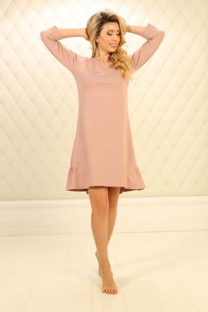 Ночная рубашка НС-М-90 розового цвета