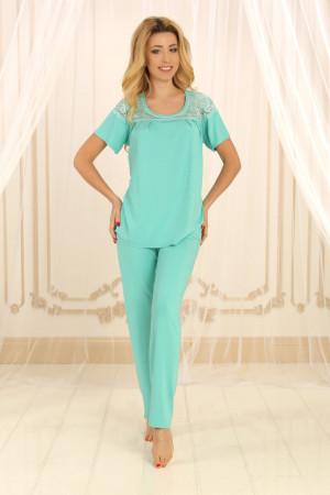 Пижама П-М-59 мятного цвета