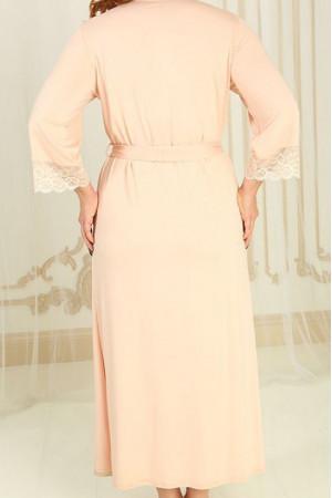 Халат Х-М-21 персикового цвета