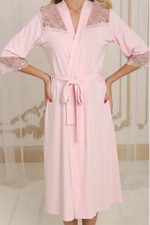 Халат Х-М-33 розового цвета