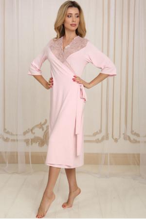 Халат Х-М-34 розового цвета