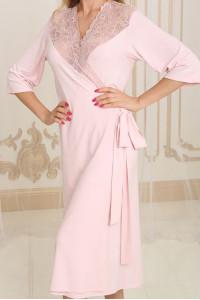 Халат Х-М-34 рожевого кольору