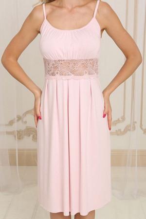 Ночная рубашка НС-М-26 розового цвета