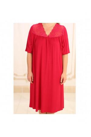 Нічна сорочка НС-М-36 червоного кольору