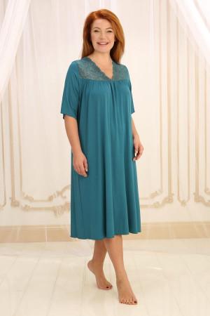 Нічна сорочка НС-М-36 смарагдового кольору