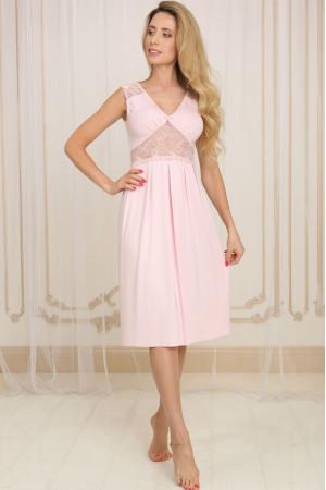Ночная рубашка НС-М-39 розового цвета