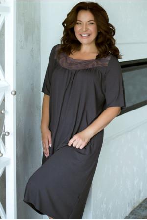 Нічна сорочка НС-М-41 лавандового кольору