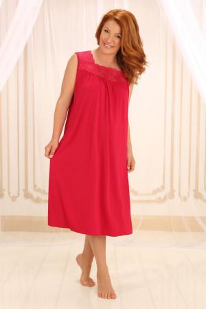 Нічна сорочка НС-М-42 червоного кольору