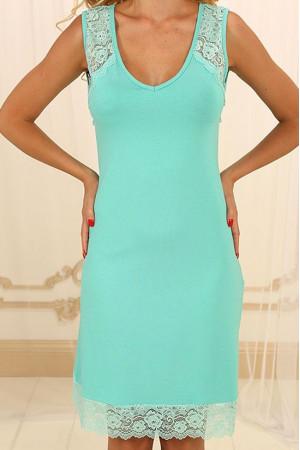 Нічна сорочка НС-М-73 кольору м'яти