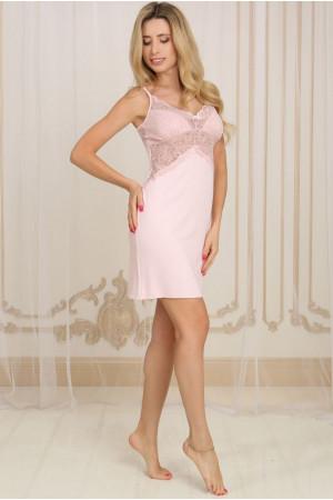 Нічна сорочка НС-М-78 рожевого кольору