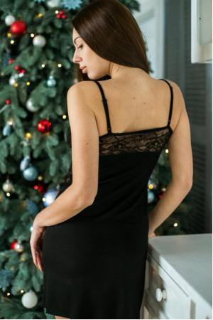 Ночная рубашка НС-М-78 черного цвета