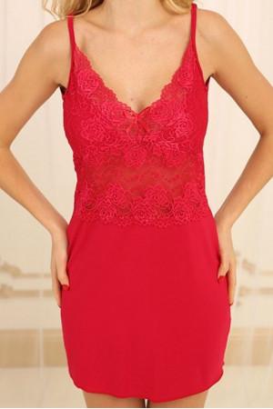 Ночная рубашка НС-М-82 красного цвета