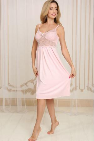 Ночная рубашка НС-М-83 розового цвета