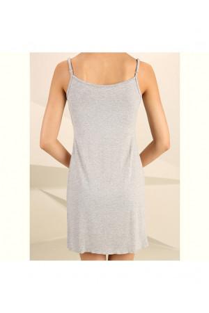 Нічна сорочка НС-М-22 кольору сірий меланж