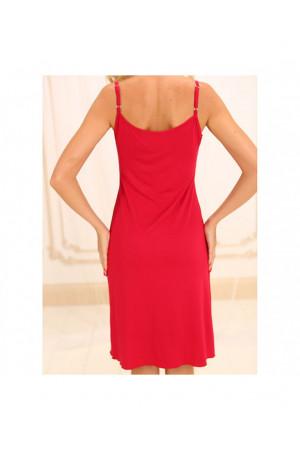 Нічна сорочка НС-М-28 червоного кольору
