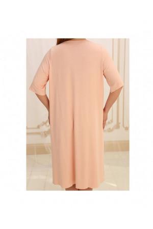 Нічна сорочка НС-М-36 кольору пудри