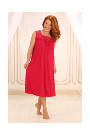 Ночная рубашка НС-М-42 красного цвета