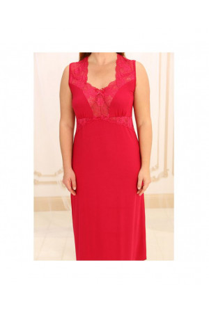 Ночная рубашка НС-М-60 красного цвета