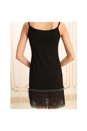 Нічна сорочка НС-М-70 чорного кольору