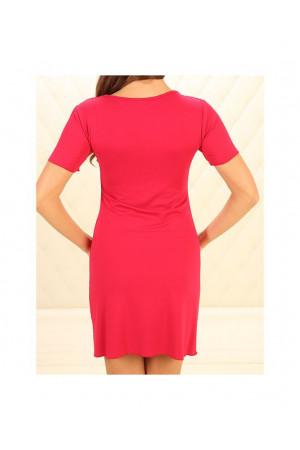 Нічна сорочка НС-М-87 червоного кольору
