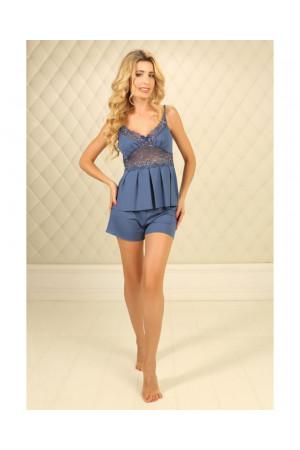 Пижама П-М-26 цвета джинс