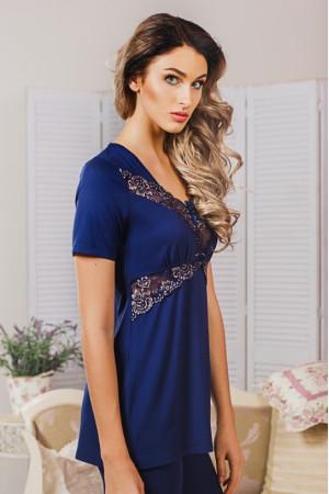 Пижама П-М-42 синего цвета