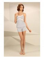 Пижама П-М-45 цвета серый меланж